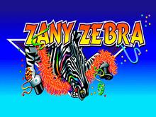 Zany Zebra — играть онлайн