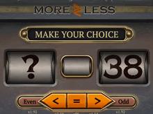 Онлайн игра More Or Less_